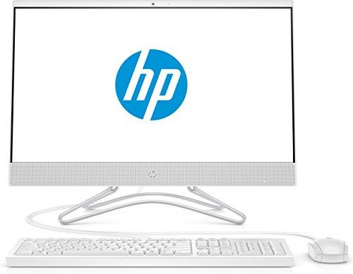 HP 24-f0025ng (23,8 Zoll / Full HD) All in One PC (AMD A9-9425, 8GB DDR4 RAM, 256GB SSD, AMD Radeon R5, Windows 10 Home) weiß