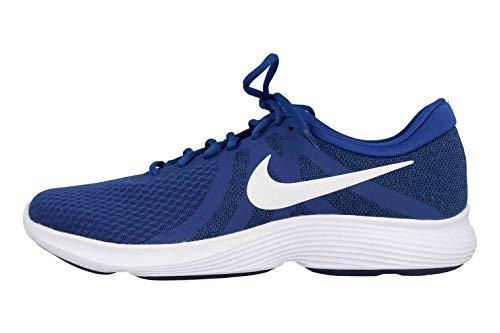 Nike Herren Revolution 4 EU Laufschuhe, Mehrfarbig (Indigo Force/White/Blue Void 403), 48.5 EU