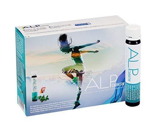 ALP CARNITIN l carnitin liquid Trinkampullen 14x25 ml fatburner energy booster - Sport Fitness Ausdauer Fettverbrennung