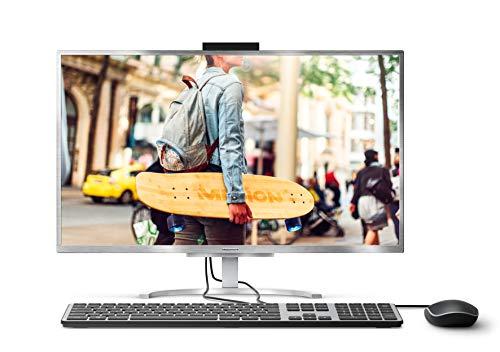 Medion Akoya FullHD All-in-One PC Intel Core i3 4GB RAM   128GB SSD grau