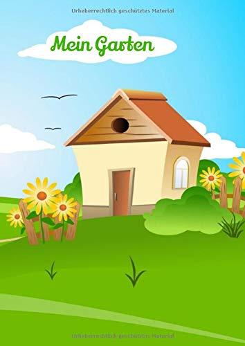 Mein Garten: Notizbuch |120 Seiten| Liniertes Journal | A4