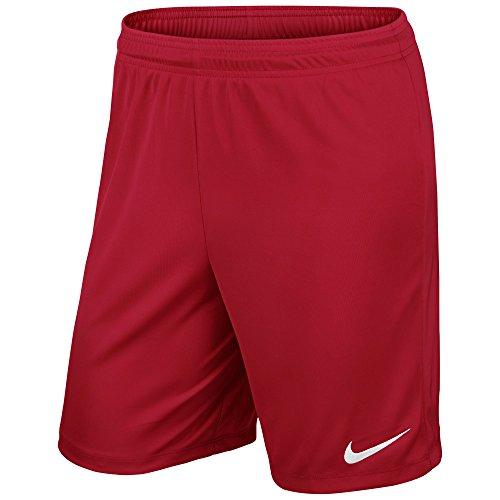 Nike Herren Park II Knit Shorts mit Innenslip University Red/White, 2XL