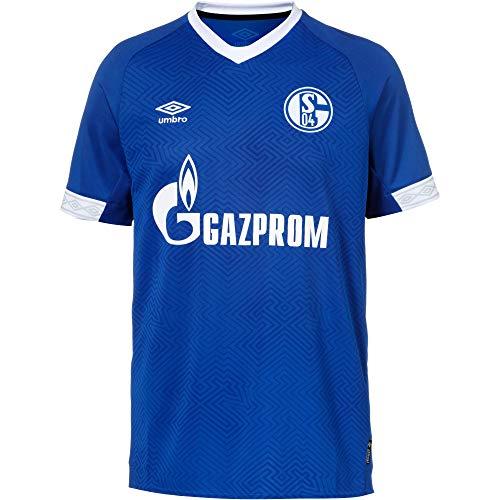 Umbro Herren FC Schalke 04 Heim 2018/2019 Teamtrikot, blau/Weiß, M