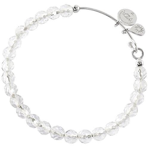 laVIIDA AL4001RH Damen Armreif ALLEGRA la VIIDA Silber weiß Bergkristall