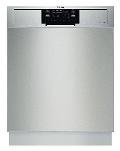 AEG FAVORIT F26302UM0 Geschirrspüler (vollintegriert) / optimal integrierbar / Energieklasse A++ (262 kWh pro Jahr) / vollintegrierter Einbaugeschirrspüler / Geschirrspülmaschine / Edelstahl