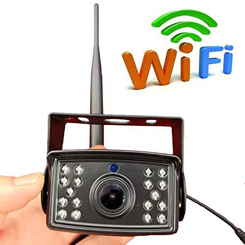 leap-G Rückfahrkamera WiFi Rückfahrkamera, Nachtsicht Rückspiegel Wireless Backup Kamera-Kit, uto-Kamera Rückspiegel Monitor Unterstützung Geräte Monito