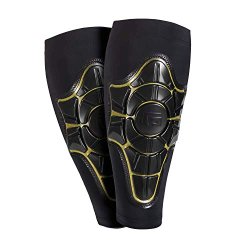 G-Form Schienbeinschoner Pro-X schwarz Schwarz & Gelb XL