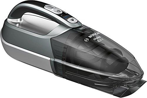 Bosch Move 20.4V Kabelloser Handstaubsauger BHN20110, schnelle Reinigung, hohe Reinigungsleistung, flexibel einsetzbar, 3-fach Filter, silber