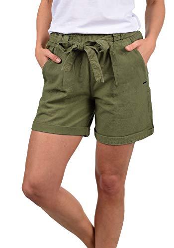 DESIRES Lina Damen Chino Shorts Bermuda Kurze Hose, Größe:XS, Farbe:Dusty Olive (3784)