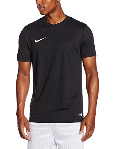 NIKE Herren Kurzarm T-Shirt Trikot Park VI, Schwarz (Black/White/010), Gr. S