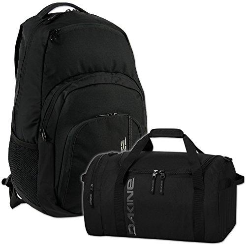 DAKINE 2er SET Laptop Rucksack CAMPUS LG + EQ BAG SM Sporttasche Black
