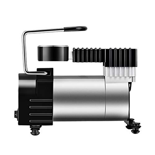NSDFG Car air pump Elektro-Fahrrad Fahrrad Kugelluftpumpe Auto Luftpumpe Luftpumpe 12V tragbare Auto Luftpumpe elektrische Hochdruckpumpe Aufpumpen des Autos