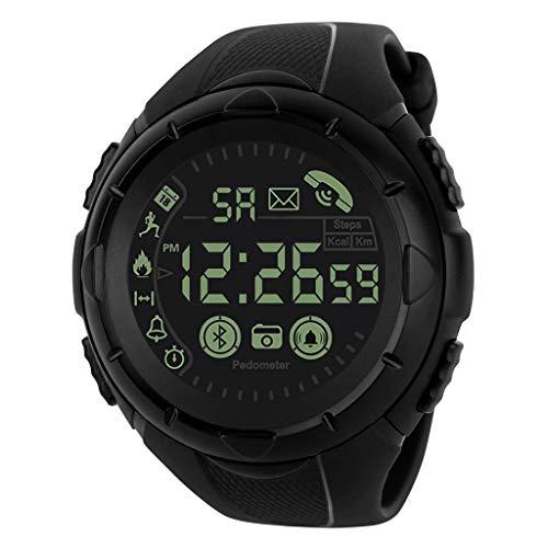friendGG Intelligente Uhr Bluetooth-Sport-Armbanduhr Der Art- Und WeisemäNner Wasserdicht Neu Damen Herren Uhr Uhren Watch Casual üBerwachung Analoge Uhrenarmband Armbanduhren