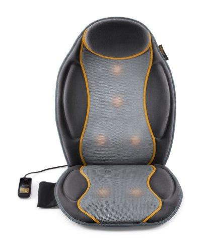 Medisana MC 810 Massagesitzauflage - Massageauflage mit Vibrationsmassage - für Schulter, Rücken, Taillie und Oberschenkelbereich - 9 Massageprogramme mit 3 Intensitätsstufen - 88937