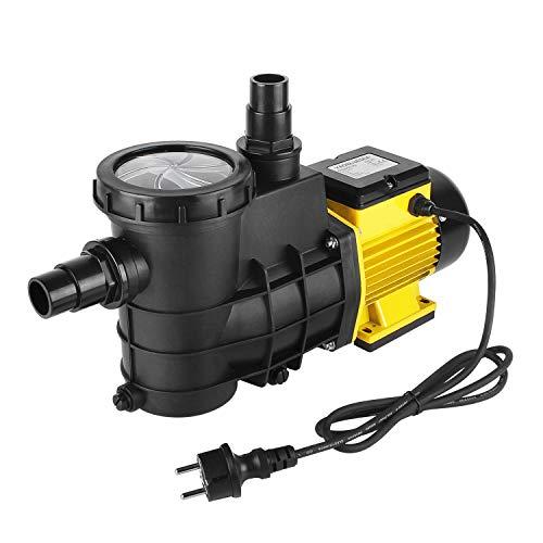 YAOBLUESEA Poolpumpe Schwimmbadpumpe Umwälzpumpe Filterpumpe 5000L/h,für die Zirkulation und Filtrierung