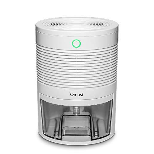 Luftentfeuchter, Omasi 600ml mini elektrischer raumentfeuchter automatischer entfeuchter leise Dehumidifier für Schmutz und Schimmel zu Hause, Schlafzimmer, Kellerräume, Schrank, Wohnwagen, Büro