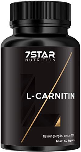 7 Star Nurtition – Premium L-Carnitin Kapseln – Hochdosiert – Abnehmen – Hergestellt in Deutschland