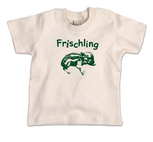 Baby T-Shirt Eidos Frischling - beige 12-18 Monate