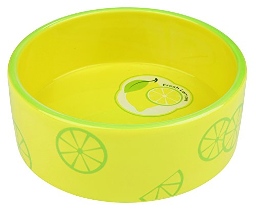 Trixie 25105 Fresh Fruits Keramiknapf, gelb