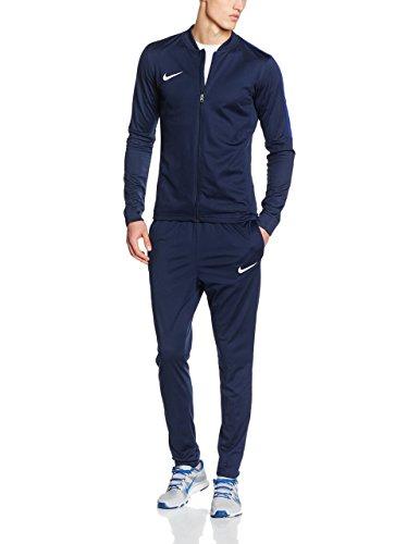 Nike Herren Academy 16 Knit Trainingsanzug - Blau (Obsidian/Deep Royal Blue/White) , XL