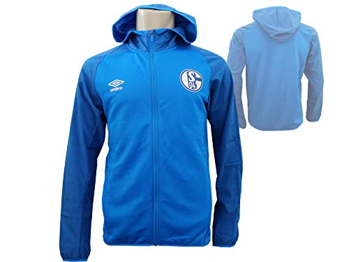 Umbro Deutschland FC Schalke 04 Hooded Jacket - XL
