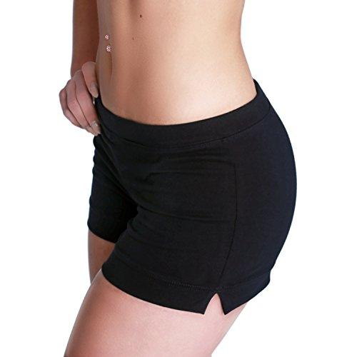 Shepa Damen kurze Fitness Shorts Hot Pants Hose XS