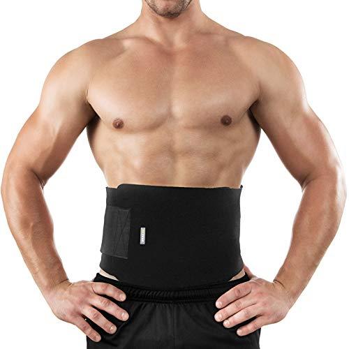 Bracoo Taillen und Bauch Schwitzgürtel - Damen und Herren - Bauchweggürtel - Bauchgürtel zum Abnehmen - SE20