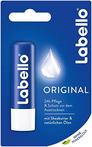 LABELLO Original Lippenpflegestift im Lippenpflege für natürlich schöne Lippen, 5.5 ml