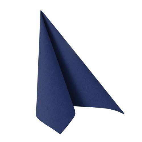 Papstar Servietten / Tissueservietten dunkelblau