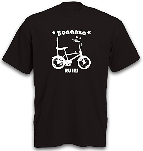 T-Shirt Bonanza Fahrrad BMX Cruiser Lowrider Beachcruiser Gr. XXL