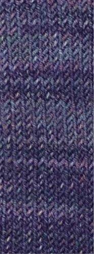 Lana Grossa Meilenweit Solo Cotone 4010 print 100g Sockenwolle