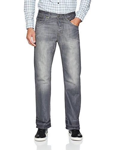 Raw Indigo Ltd Herren A42 Bootcut Jeans, Grau Grey, 36 W/34 L