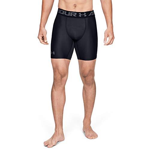 Under Armour Herren Kompressions-Shorts UA HeatGear Armour 2.0, halblange Kompressionshose, kurze Hose für Männer mit Kompressionspassform