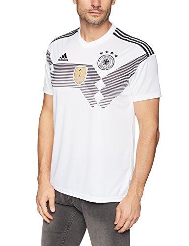 adidas DFB Trikot Home WM 2018 Herren,Weiß/Schwarz,L