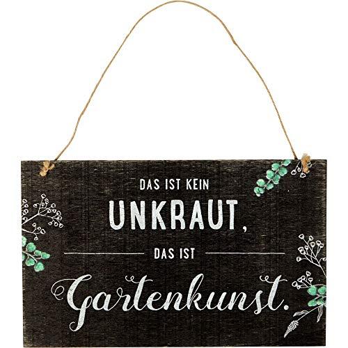 Die Spiegelburg 15691 Gartenschild 'Das ist kein Unkraut ...' I Love My Garden