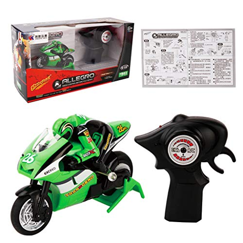 ECMQS 2,4G 3CH 1/20 Skala Mini RC Motorrad Fernbedienung Elektronische Spielzeug Weihnachten Kinder Kinder Geschenk