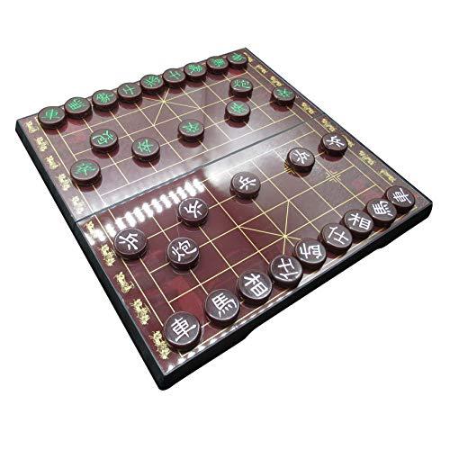 Chaowei Chinesisches Schach Xiangqi mit Magnetic Travel Set Klassischer Schachstandard für Schüler, Erwachsene und Senioren