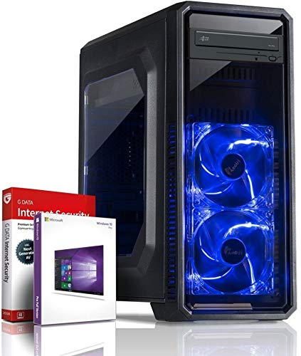 Gaming PC Ultra 8-Kern DirectX 12 Computer FX 8300 8x4.20 GHz Turbo - 8 GB DDR3 - Geforce GT 710 2 GB - 500GB HDD - Windows10 Prof - DVD±RW #5955
