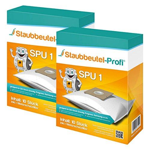 20 Staubsaugerbeutel geeignet für Simpex 4711 Clean Power von Staubbeutel-Profi®