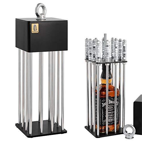 Alcohol Cage® Alkoholkäfig - EIN lustiges Geburtstagsgeschenk für Männer Das Beste witzige Geburtstagsgeschenk für Ihren Freund Eine lustige Geschenkidee für Ihren Mann Eine witzige Whisky-Box