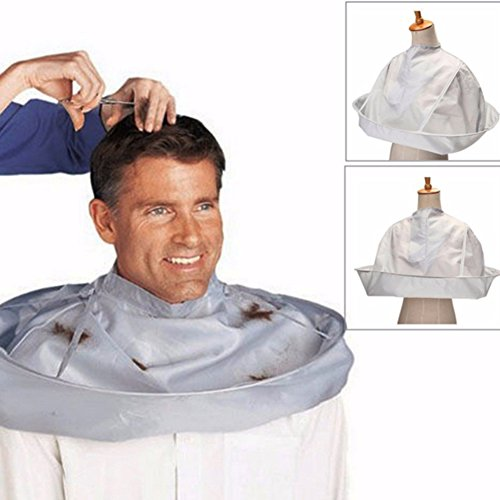 Erwachsene faltbar Salon Barber Hair Schneiden Umhang Regenschirm Home Friseurumhang