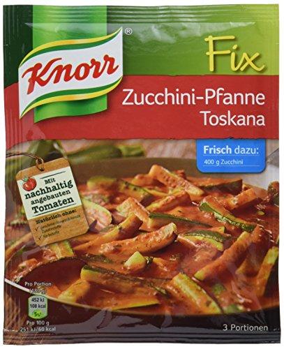 Knorr Fix Zucchini-Pfanne Toscana 3 Portionen (10 x 42 g)