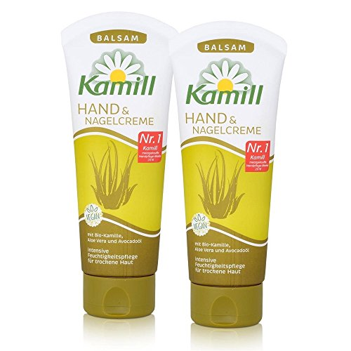 Kamill Hand & Nagel Creme Balsam 100 ml, 2er Pack (2 x 100 ml)