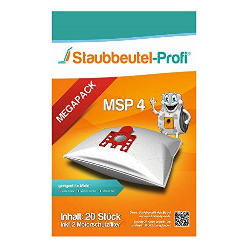 20 Staubsaugerbeutel für Miele Classic C1 EcoLine von Staubbeutel-Profi®