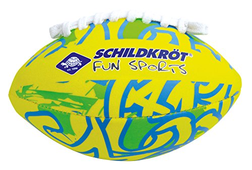Schildkröt Neopren MINI AMERICAN FOOTBALL, 16x10cm, Größe 2, griffige textile Oberfläche, salzwasserfest, ideal für Kinder-Hände, 970283