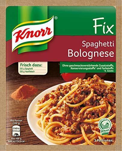 Knorr Fix Spaghetti Bolognese, 3 Portionen