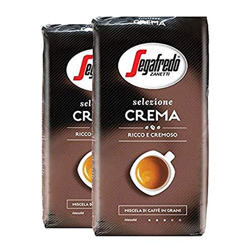 Segafredo Zanetti Selezione Crema, Ganze Bohne - 1kg - 2x