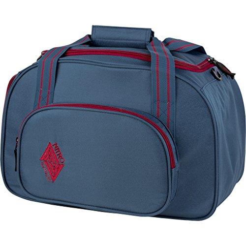 Nitro Sporttasche Duffle Bag XS, Schulsporttasche, Reisetasche, Weekender, Fitnesstasche,  40 x 23 x 23 cm, 35 L, 1131-878019_ Blue Steel
