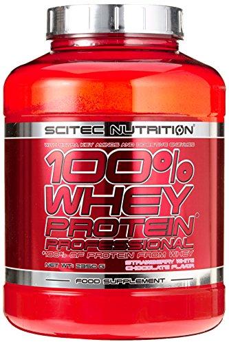Scitec Nutrition Protein 100% Whey Protein Professional, Erdbeer-Weiße Schokolade, 2350g