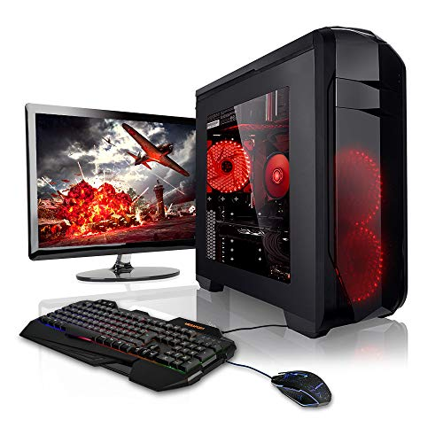 Megaport Gaming-PC Komplett-PC Vollausstattung AMD FX-6300 6x3,50 • Nvidia GeForce GTX1050 • 22